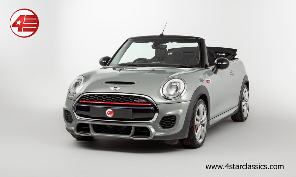2017 Mini John Cooper Works Convertible (F56) /// 16k Miles For Sale (picture 1 of 6)