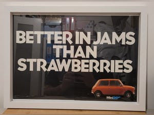 1966 Original 1979 Mini Framed Advert For Sale (picture 1 of 3)