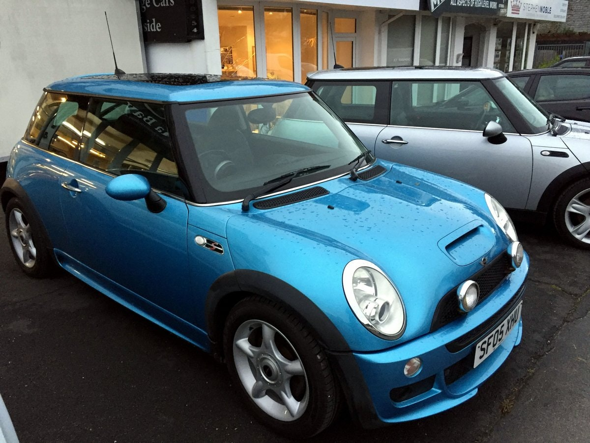 2005 MINI COOPER S RE32 SUPERCHARGED AUTOMATIC 3 DOOR HATCHBACK For Sale (picture 1 of 9)