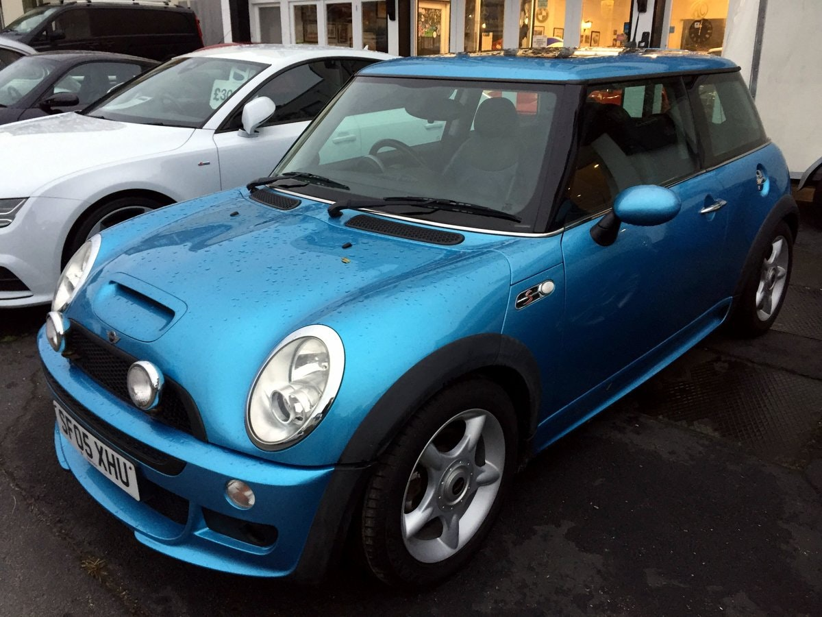 2005 MINI COOPER S RE32 SUPERCHARGED AUTOMATIC 3 DOOR HATCHBACK For Sale (picture 2 of 9)