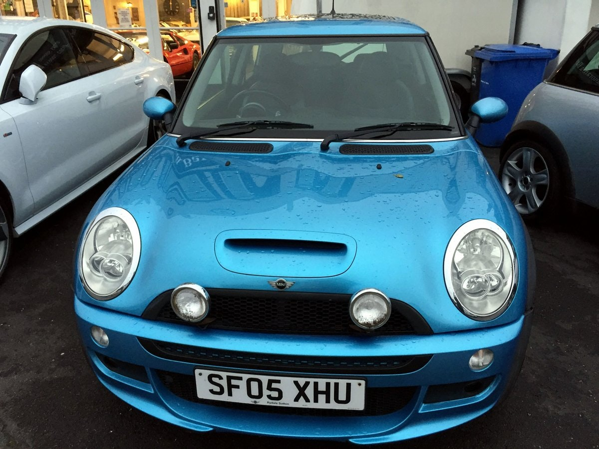 2005 MINI COOPER S RE32 SUPERCHARGED AUTOMATIC 3 DOOR HATCHBACK For Sale (picture 3 of 9)