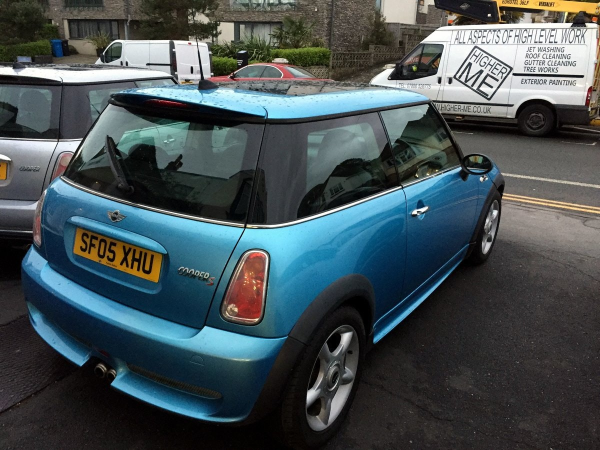 2005 MINI COOPER S RE32 SUPERCHARGED AUTOMATIC 3 DOOR HATCHBACK For Sale (picture 5 of 9)