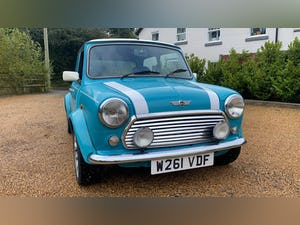 2000 Stunning Mini Cooper Sportspack in Surf Blue For Sale (picture 1 of 10)