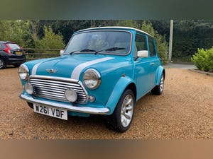 2000 Stunning Mini Cooper Sportspack in Surf Blue For Sale (picture 3 of 10)