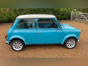 2000 Stunning Mini Cooper Sportspack in Surf Blue For Sale (picture 4 of 10)