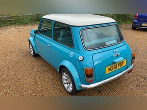 2000 Stunning Mini Cooper Sportspack in Surf Blue For Sale (picture 5 of 10)