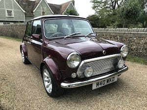 1999 Rover Mini 40th Anniversary (Lovely Low Mileage Car) For Sale (picture 1 of 12)