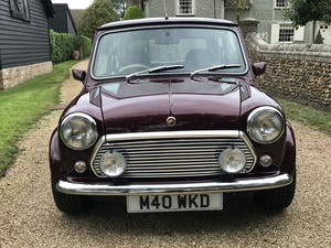 1999 Rover Mini 40th Anniversary (Lovely Low Mileage Car) For Sale (picture 8 of 12)
