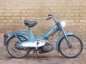Picture of 1977 Motobecane Mobylette 40TL 49cc SOLD
