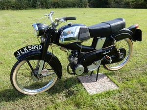 Picture of Mobylette Mobymatic Speciale - Pedal Start  49cc  1966 For Sale