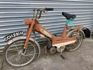 1970 MOBYLETTE CYCLEMOTOR MOPED CYCLE MOTOR £795 OFFERS PX TRIALS For Sale (picture 2 of 4)