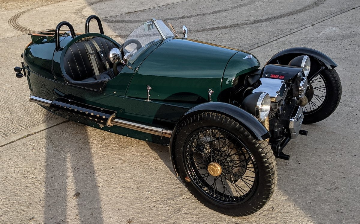 2016 Morgan 3 Wheeler - performance tuned, immac. For Sale (picture 2 of 6)