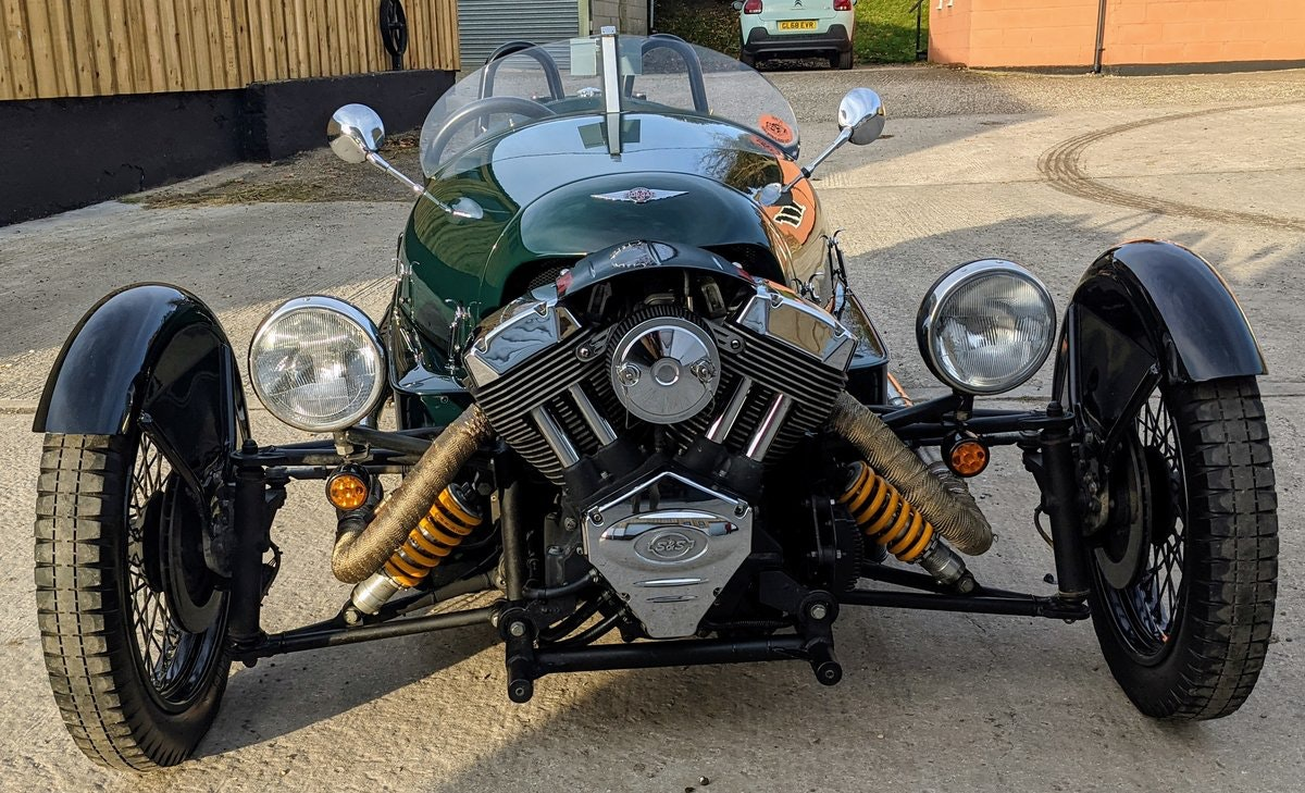 2016 Morgan 3 Wheeler - performance tuned, immac. For Sale (picture 3 of 6)
