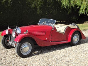 1952 Morgan Plus Four. Flat Rad with period competition history For Sale (picture 1 of 17)