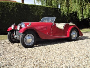1952 Morgan Plus Four. Flat Rad with period competition history For Sale (picture 2 of 17)
