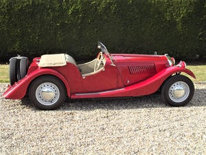 1952 Morgan Plus Four. Flat Rad with period competition history For Sale (picture 7 of 17)
