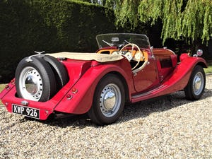 1952 Morgan Plus Four. Flat Rad with period competition history For Sale (picture 9 of 17)