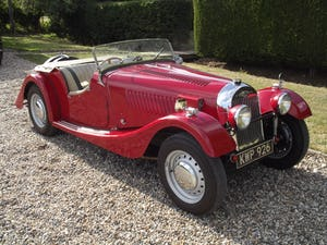 1952 Morgan Plus Four. Flat Rad with period competition history For Sale (picture 11 of 17)