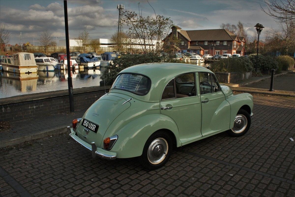 1961 Morris Minor 948cc - Porcelain Green - Unmolested example! SOLD (picture 2 of 6)