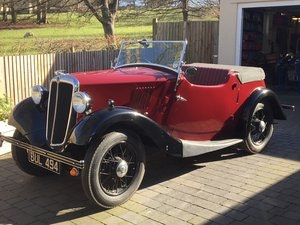 Picture of 1935 Morris Eight Pre-series 2 seat tourer -totally restored SOLD