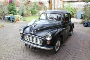 Picture of 1956 split screen moggy , black