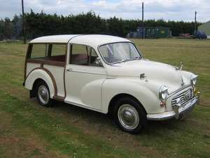 Picture of 1964 MORRIS MINOR 1000 TRAVELLER. 2 OWNS 36 YEARS. DISCS. SOLD