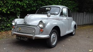 Picture of 1967 MORRIS MINOR 'FLORIE' SALOON ~ DOVE GREY ~ 25 YR OWNED  SOLD