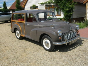 Picture of 1964 MORRIS MINOR 1000 TRAVELLER. EXCELLENT CONDITION. SOLD