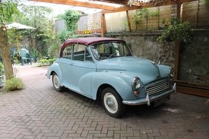 Picture of 1963 MORRIS MINOR CONVERTIBLE ,Chassis mat