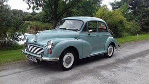 Picture of 1969 MORRIS MINOR 'PHYLLIS' SALOON ~ GREY ~ 29 YRS OWNED! SOLD