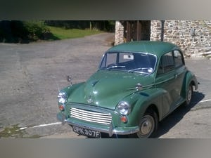 1968 MORRIS 1000 saloon For Sale (picture 1 of 10)