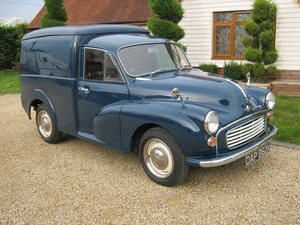 Picture of 1972 MORRIS MINOR 1000 8CWT VAN. 1275cc MG ENGINE. SOLD