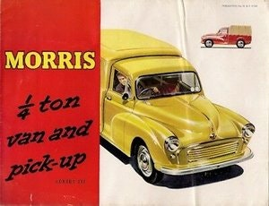 Picture of 1968 MORRIS MINORS WANTED ~ ANYTHING CONSIDERED ~ COLLECTED TODAY For Sale