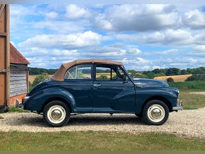 1967 Morris Minor Convertible (Factory Original) Restored example For Sale (picture 1 of 12)