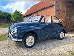 1967 Morris Minor Convertible (Factory Original) Restored example For Sale (picture 4 of 12)