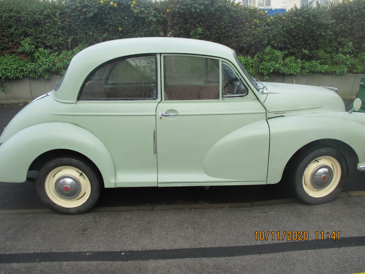 1961 morris minor 1000 with nice transferable reg. For Sale (picture 1 of 6)