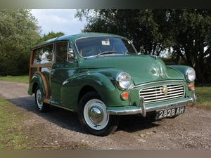 1967 Morris Minor 1000 Traveller Fully refurbished For Sale (picture 1 of 15)