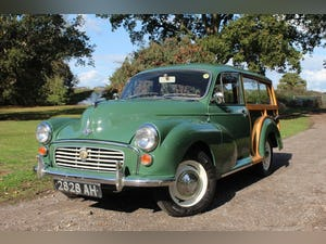 1967 Morris Minor 1000 Traveller Fully refurbished For Sale (picture 2 of 15)