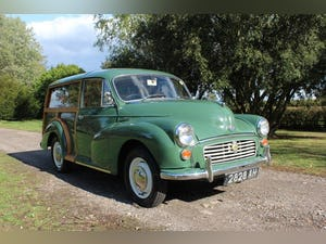 1967 Morris Minor 1000 Traveller Fully refurbished For Sale (picture 3 of 15)