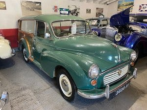 1967 Morris Minor 1000 Traveller Fully refurbished For Sale (picture 15 of 15)