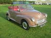Picture of 1961 MORRIS MINOR 1000 CONVERTIBLE. FACTORY BUILT. SOLD