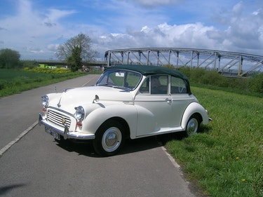 Picture of 1966 Morris Minor 1000 Factory Convertible For Sale