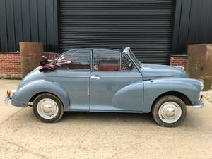1959 Morris Minor 1000 series 3 factory Convertible For Sale (picture 2 of 12)