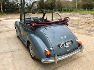 1959 Morris Minor 1000 series 3 factory Convertible For Sale (picture 5 of 12)