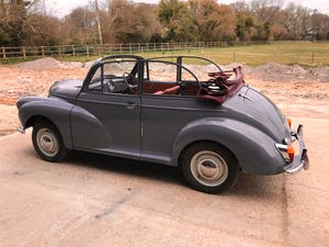 1959 Morris Minor 1000 series 3 factory Convertible For Sale (picture 6 of 12)
