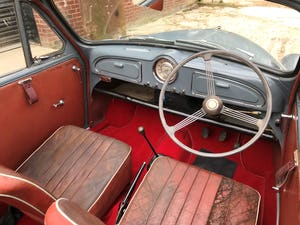 1959 Morris Minor 1000 series 3 factory Convertible For Sale (picture 9 of 12)