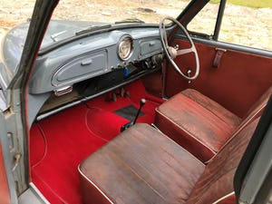 1959 Morris Minor 1000 series 3 factory Convertible For Sale (picture 11 of 12)