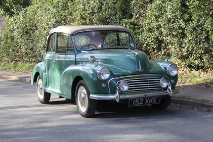 Picture of 1963 Morris Minor Tourer - 4000 Miles since restoration For Sale
