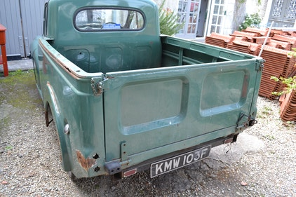 Picture of 1968 Morris 1000 pickup for restoration For Sale