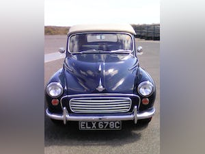 1965 MORRIS MINOR CONVERTIBLE For Sale (picture 5 of 10)